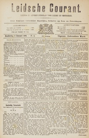 Leydse Courant 1889-01-03