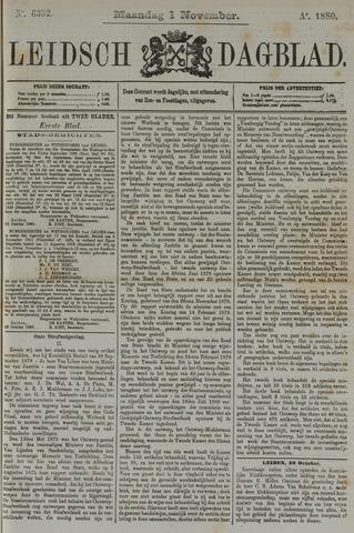 Leidsch Dagblad 1880-11-01