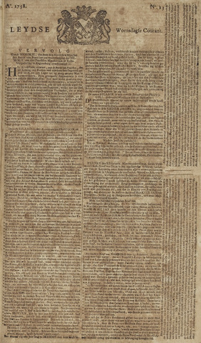 Leydse Courant 1758-02-22