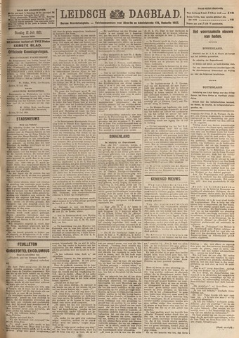 Leidsch Dagblad 1921-07-12