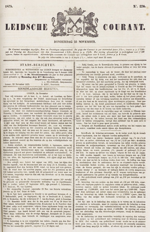 Leydse Courant 1875-11-25