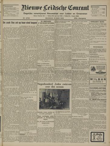 Nieuwe Leidsche Courant 1939-06-19