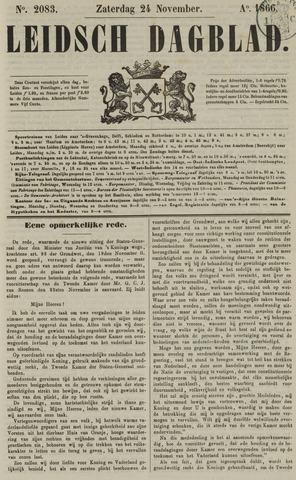 Leidsch Dagblad 1866-11-24