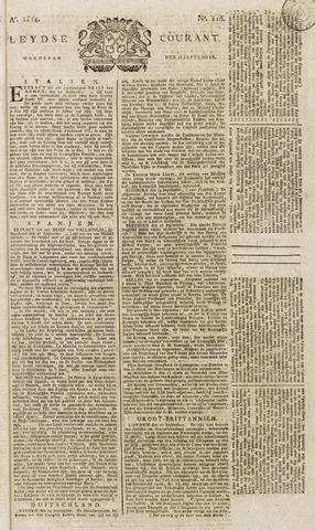 Leydse Courant 1814-09-28
