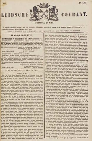 Leydse Courant 1884-07-23