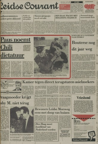 Leidse Courant 1987-04-01