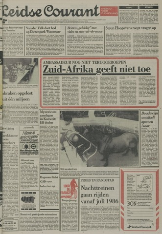 Leidse Courant 1985-07-12