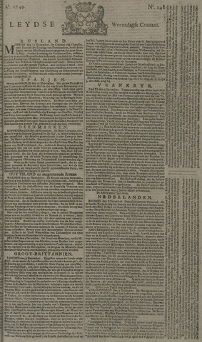 Leydse Courant 1749-12-10