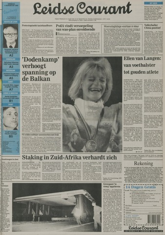 Leidse Courant 1992-08-04