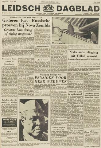 Leidsch Dagblad 1961-10-24