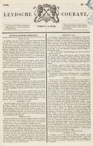 Leydse Courant 1846-06-12