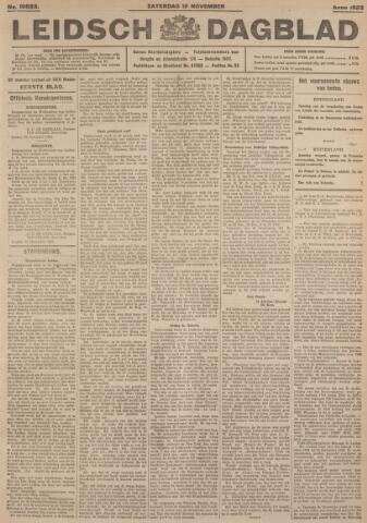 Leidsch Dagblad 1923-11-10