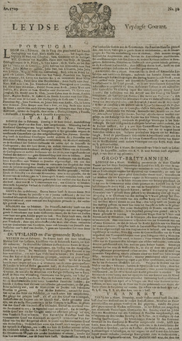 Leydse Courant 1729-03-11