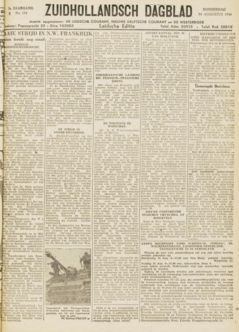 Zuidhollandsch Dagblad 1944-08-24