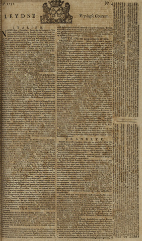 Leydse Courant 1751-01-08