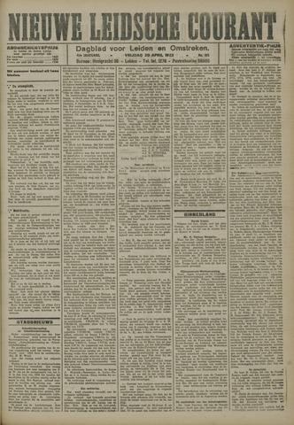 Nieuwe Leidsche Courant 1923-04-20