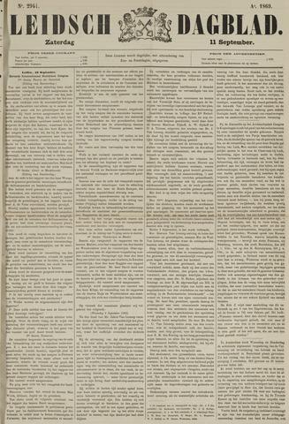 Leidsch Dagblad 1869-09-11