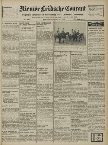 Nieuwe Leidsche Courant 1938-08-22