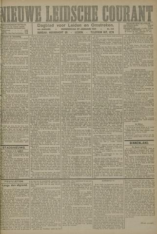Nieuwe Leidsche Courant 1921-01-27