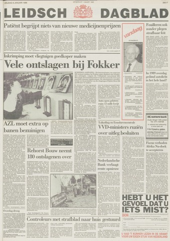 Leidsch Dagblad 1988-01-08