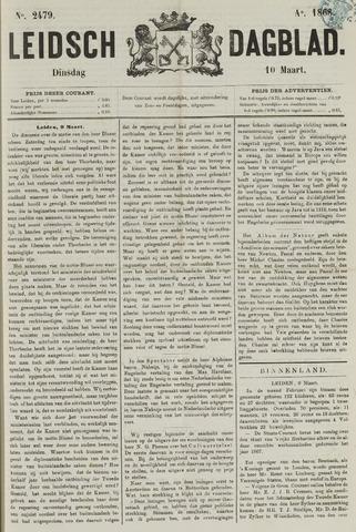 Leidsch Dagblad 1868-03-10