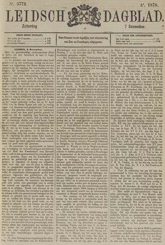 Leidsch Dagblad 1878-12-07