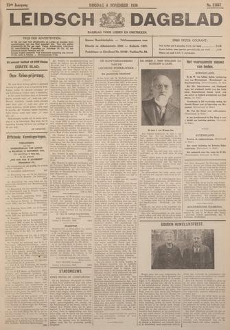 Leidsch Dagblad 1930-11-04