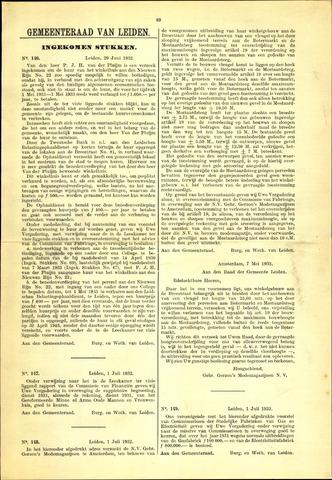 Handelingen van de Raad 1932-06-29