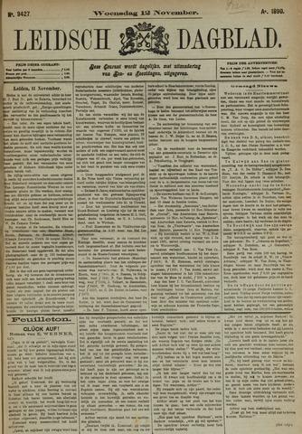 Leidsch Dagblad 1890-11-12