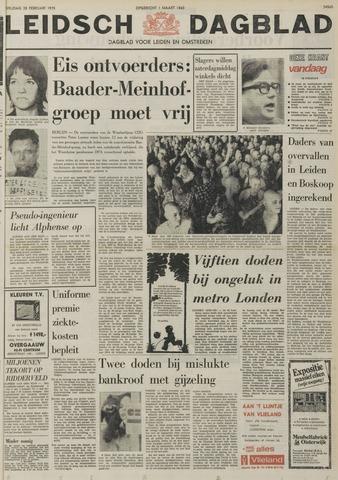 Leidsch Dagblad 1975-02-28