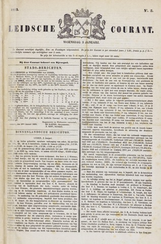 Leydse Courant 1883-01-03