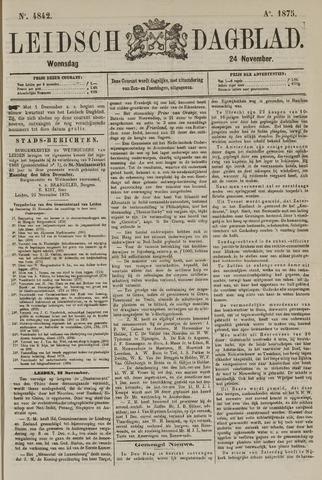 Leidsch Dagblad 1875-11-24