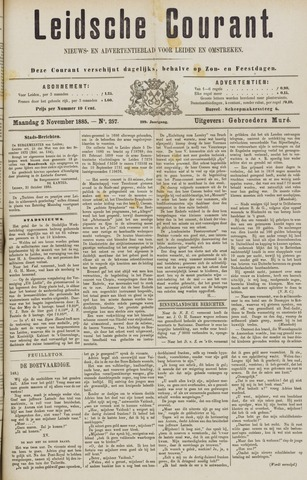 Leydse Courant 1885-11-02
