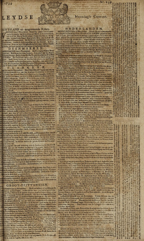 Leydse Courant 1753-11-19