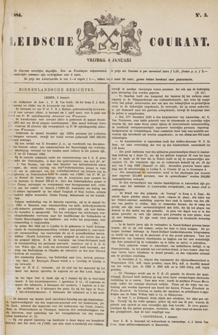 Leydse Courant 1884-01-04