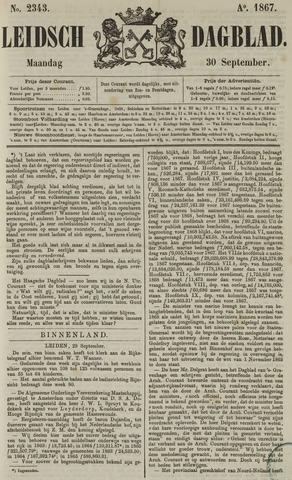 Leidsch Dagblad 1867-09-30