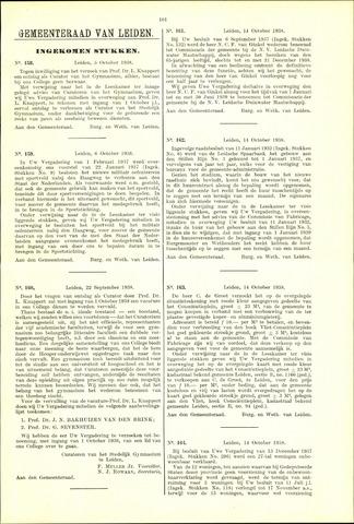 Handelingen van de Raad 1938-10-05