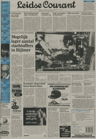 Leidse Courant 1992-10-08