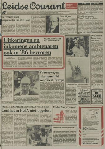 Leidse Courant 1985-07-05