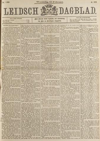 Leidsch Dagblad 1899-02-15
