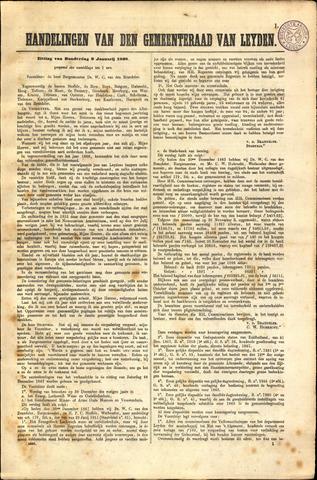 Handelingen van de Raad 1868-01-09