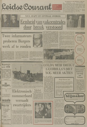 Leidse Courant 1973-04-11