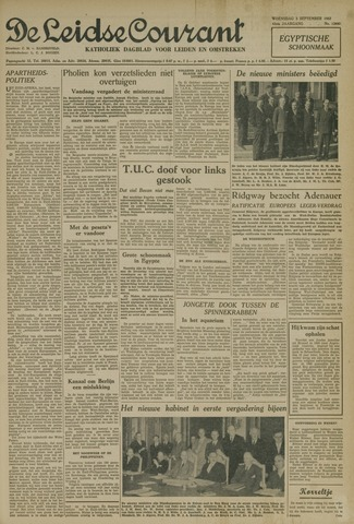 Leidse Courant 1952-09-03