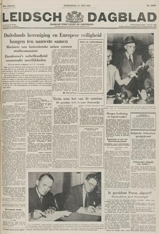Leidsch Dagblad 1955-07-21