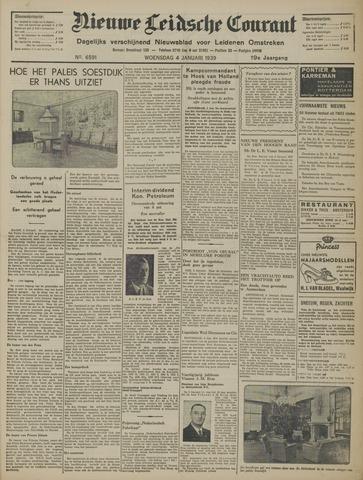 Nieuwe Leidsche Courant 1939-01-04