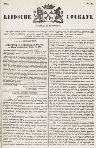 Leydse Courant 1877-02-20