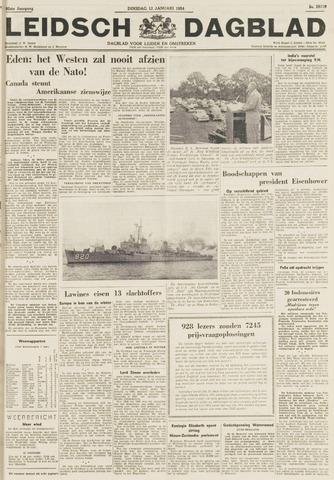 Leidsch Dagblad 1954-01-12