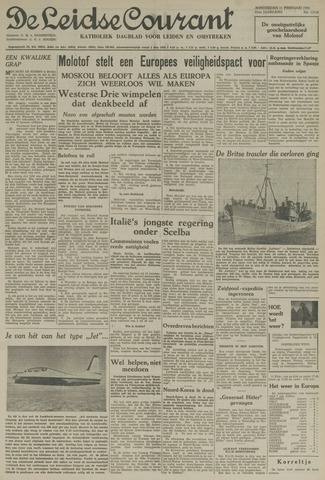 Leidse Courant 1954-02-11