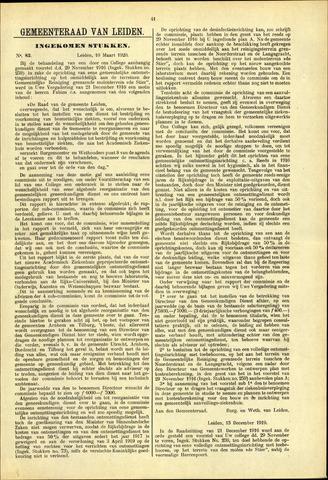 Handelingen van de Raad 1920-03-10