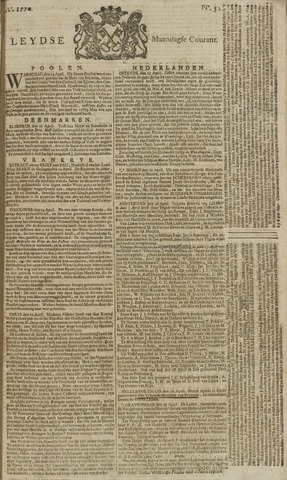 Leydse Courant 1770-04-30